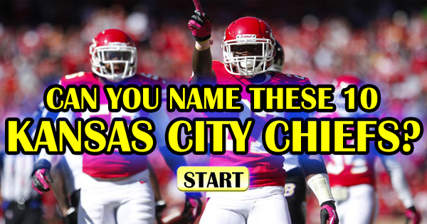 Can You Name These 10 Kansas City Chiefs?