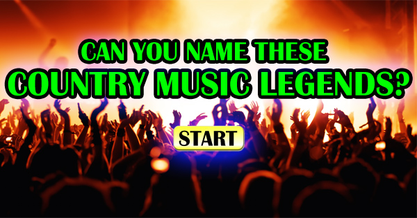 Can You Name These Country Music Legends?