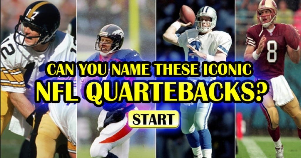 Can You Name These Iconic NFL Quarterbacks?