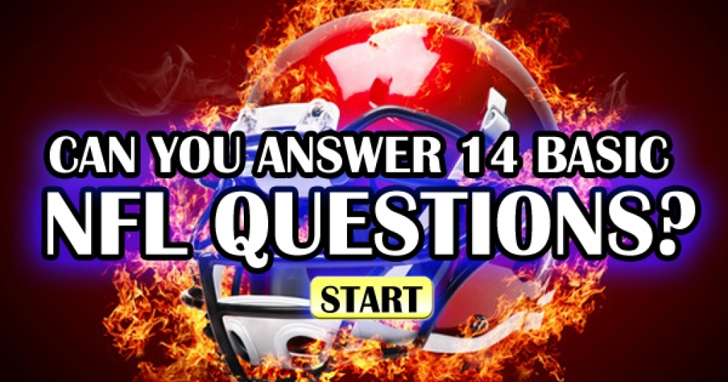 Can You Answer 14 NFL Questions?
