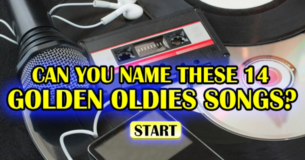 Can You Name These 14 Golden Oldies Songs?
