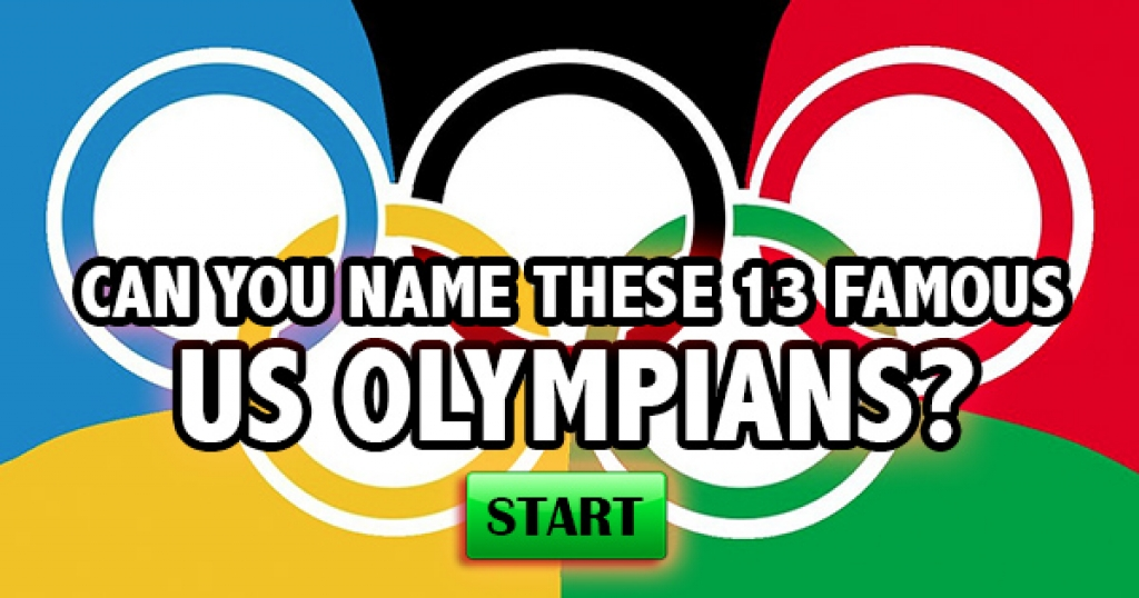Can You Name These 13 Famous US Olympians?