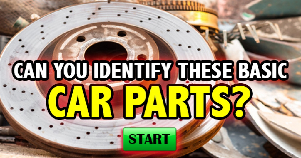 Can You Identify These Basic Car Parts?