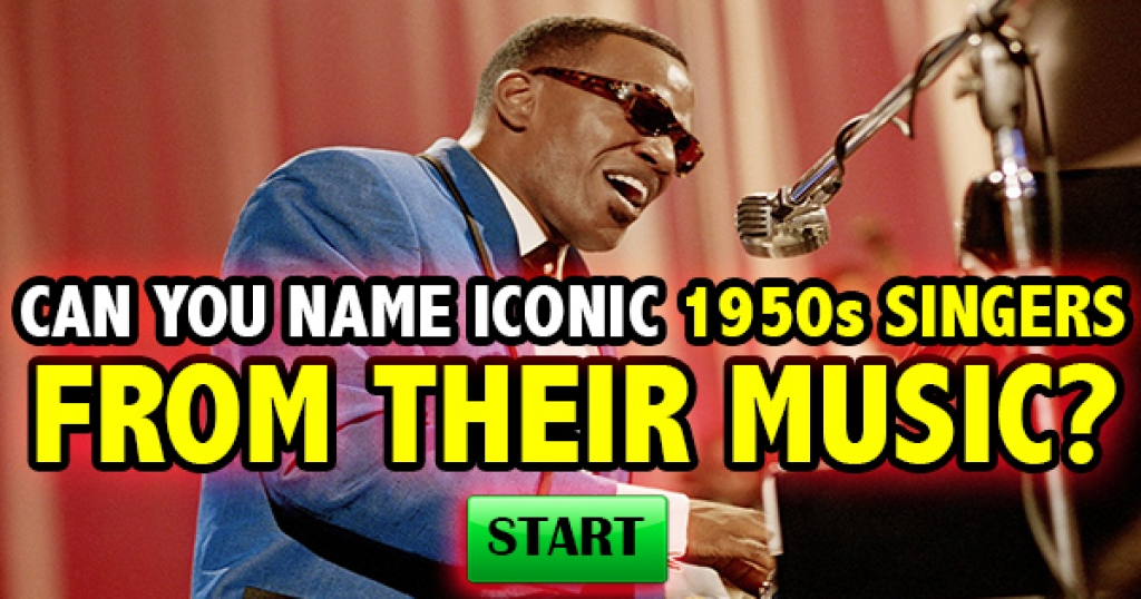 Can You Name Iconic 1950s Singers From Their Music?