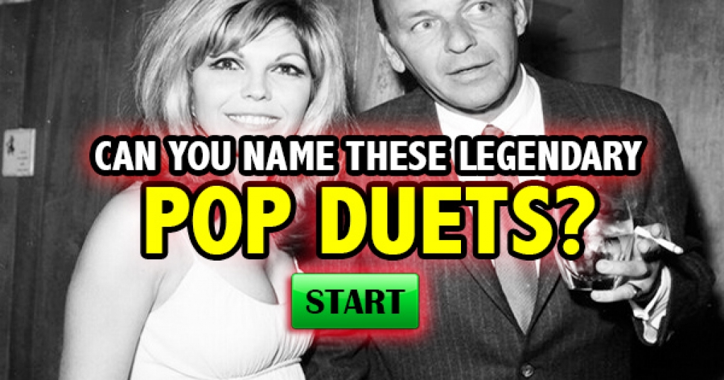 Can You Name These Legendary Pop Duets?