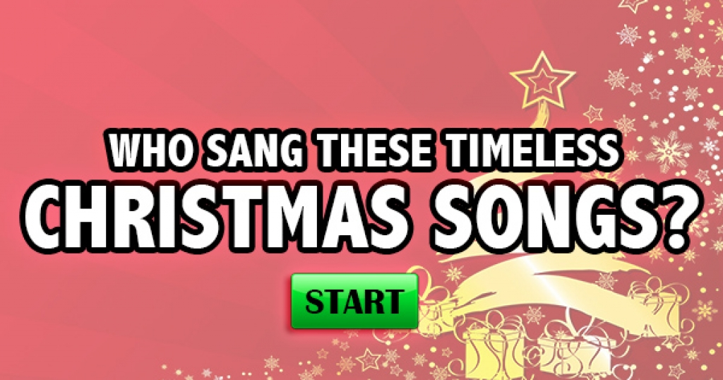 Who Sang These Timeless Christmas Songs?