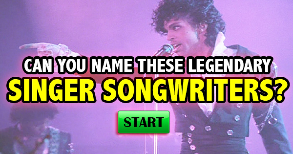 Can You Name These Legendary Singer Songwriters?