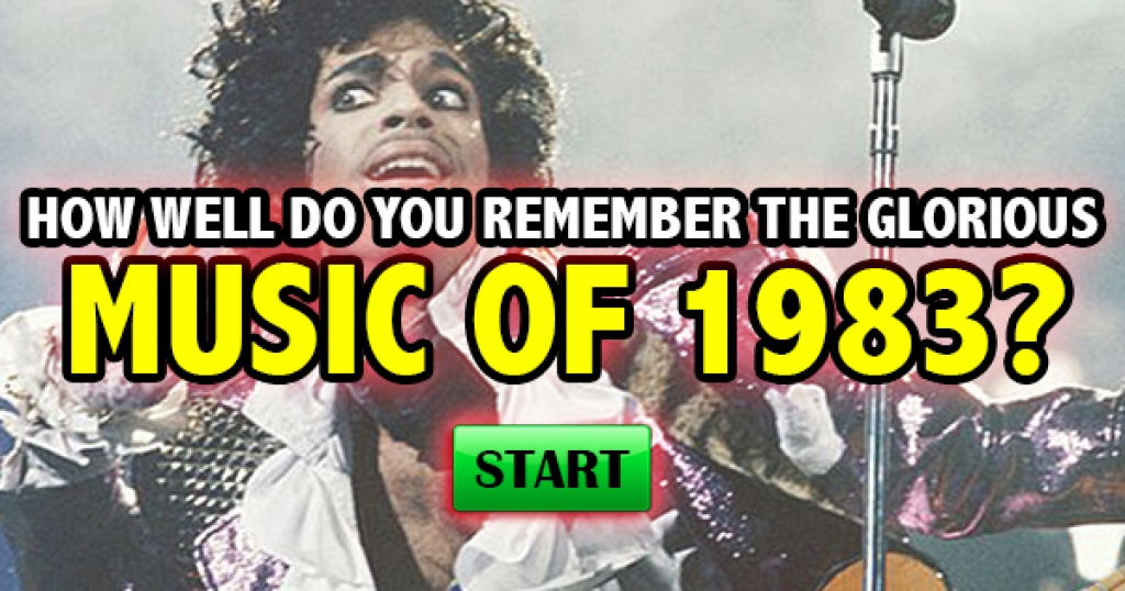 How Well Do You Remember The Glorious Music of 1983?