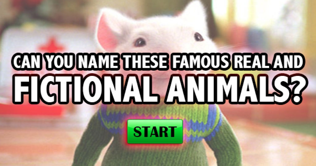 Can You Name These Famous Real and Fictional Animals?