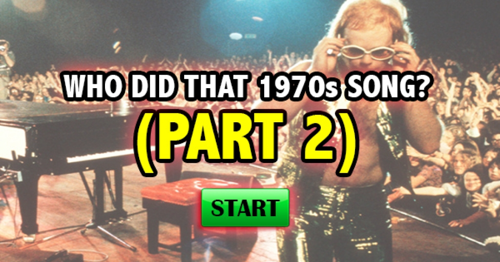 Who Did That 1970s Song? (Part 2)