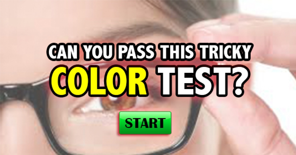 Can You Pass This Tricky Color Test?