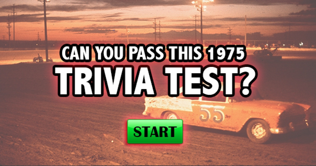 Can You Pass This 1975 Trivia Test?