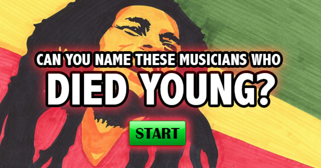 Can You Name These Musicians Who Died Young?
