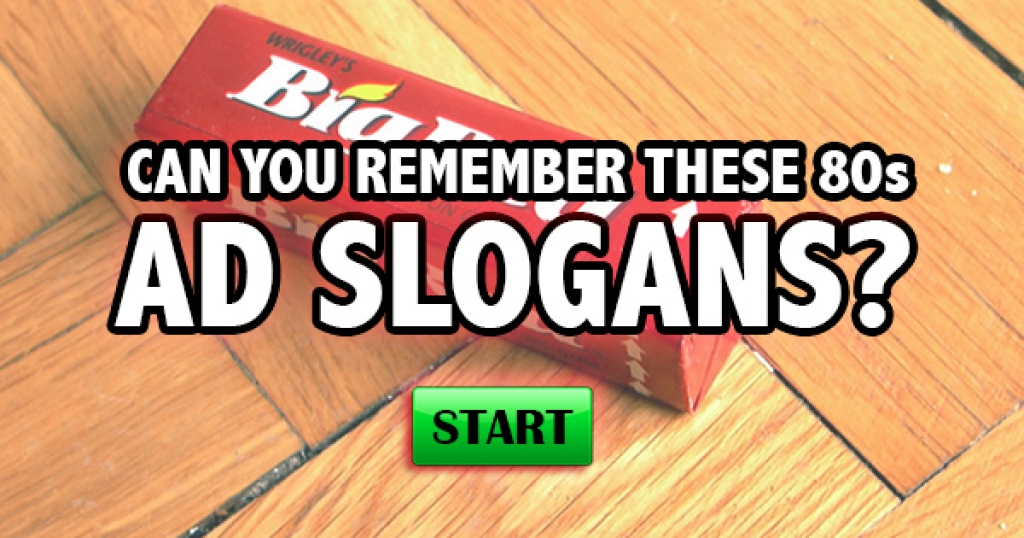 Can You Remember These 80s Ad Slogans?