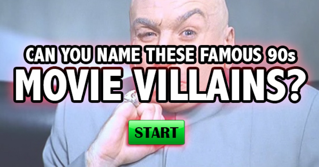 Can You Name These Famous 90s Movie Villains?