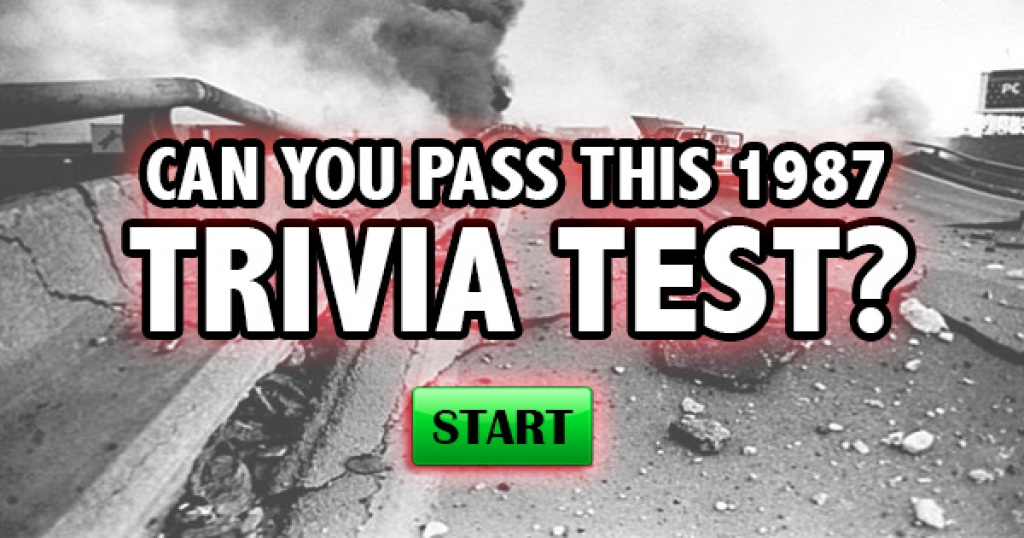 Can You Pass This 1989 Trivia Test?