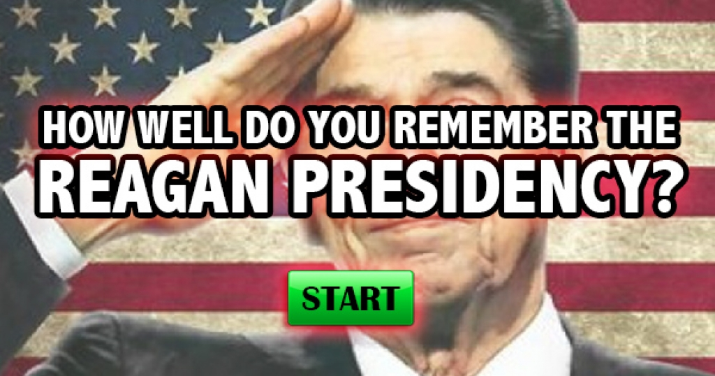 How Well Do You Remember The Reagan Presidency?