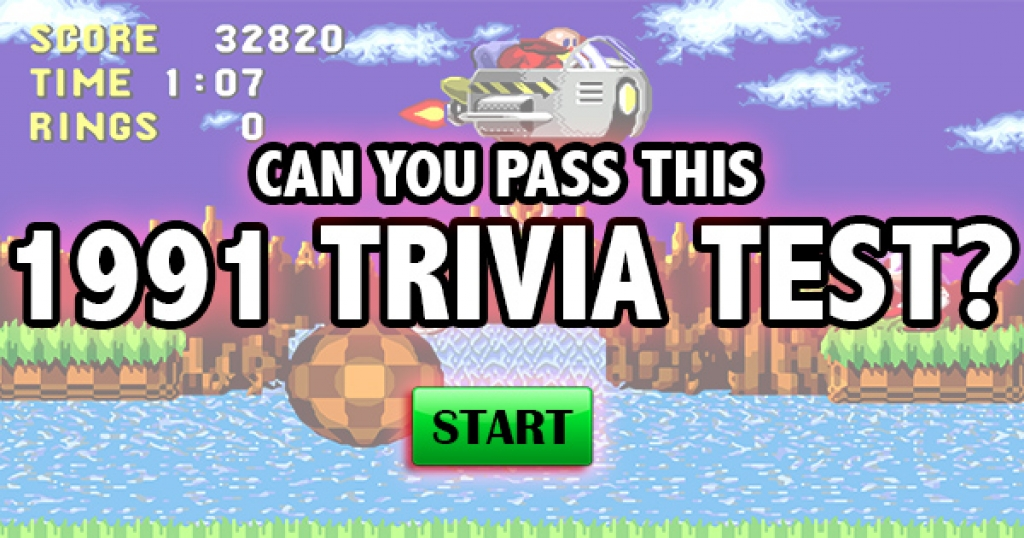 Can You Pass This 1991 Trivia Test?