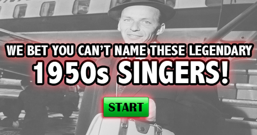 We Bet You Can't Name These Legendary 1950s Singers!