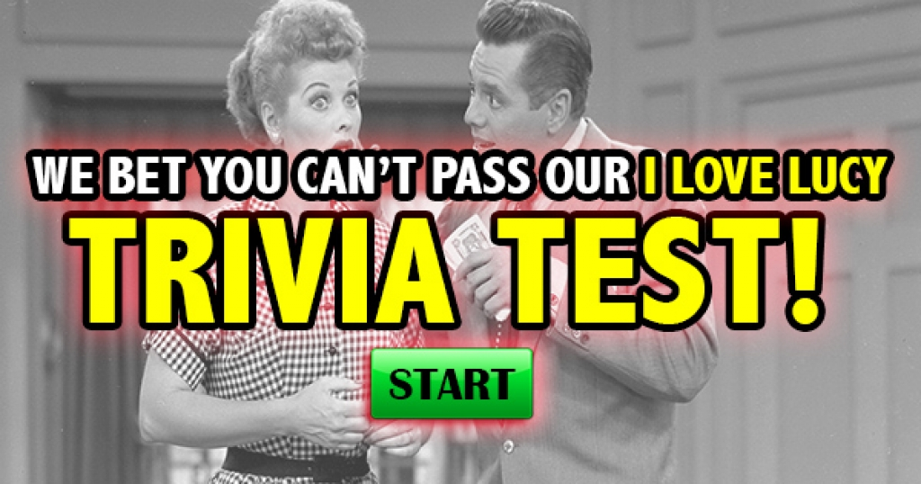 We Bet You Can't Pass Our I Love Lucy Trivia Test!