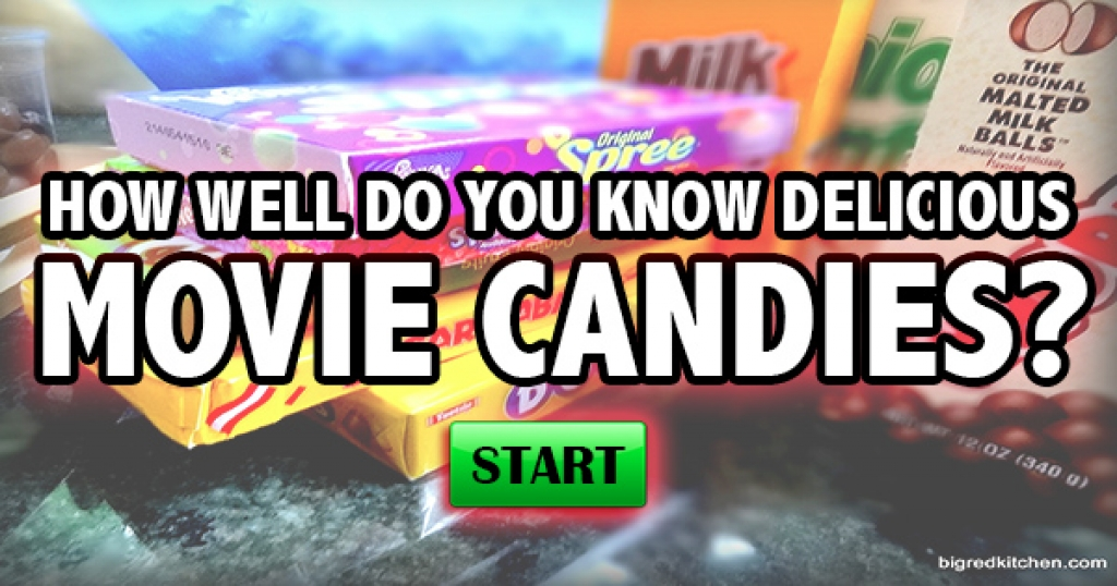 How Well Do You Know Delicious Movie Candies?
