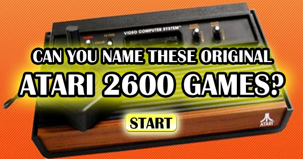 Can You Name These Original Atari 2600 Classic Games?