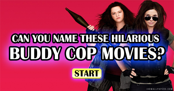 Can You Name These Hilarious Buddy Cop Movies?