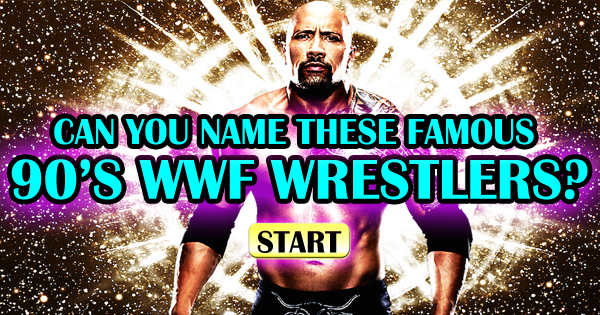 Can You Name These Famous 90's WWF Wrestlers?