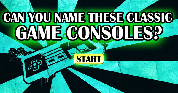 Can You Name These 13 Memorable Game Consoles?
