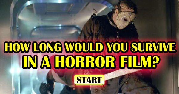 How Long Would You Actually Survive In A Horror Movie?