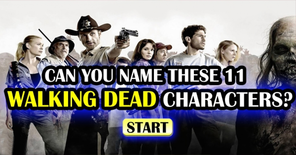 Can You Name These 11 Characters From The Walking Dead?