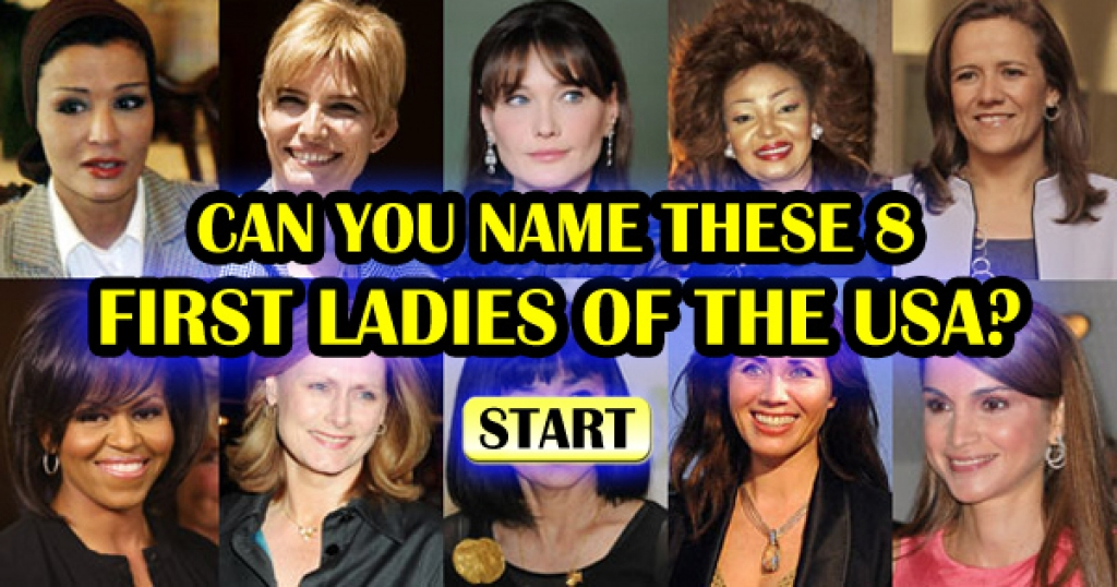 Can You Name These First Ladies Of The United States?