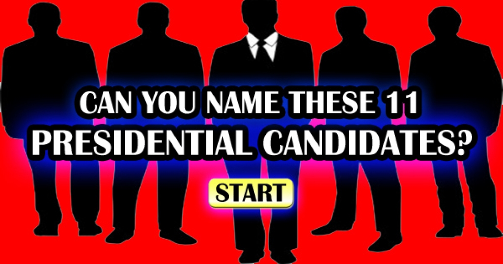 Can You Name These Presidential Candidates Who Lost?