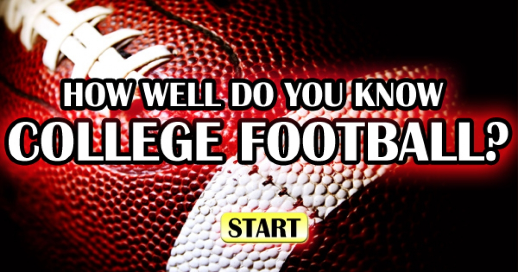 How Well Do You Know College Football?