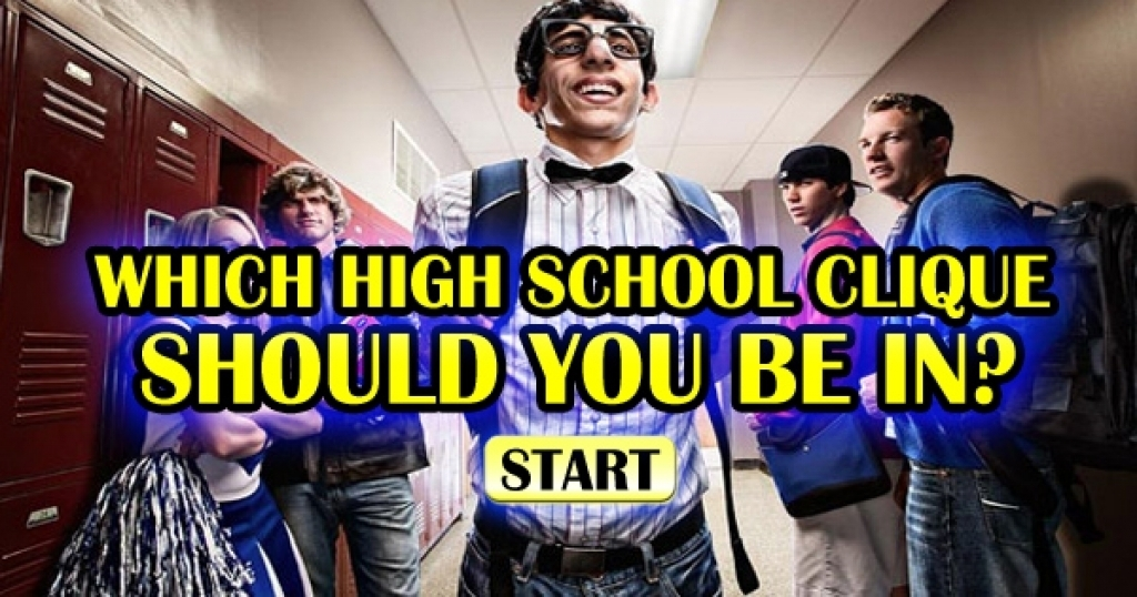 Which High School Clique Should You Be In?