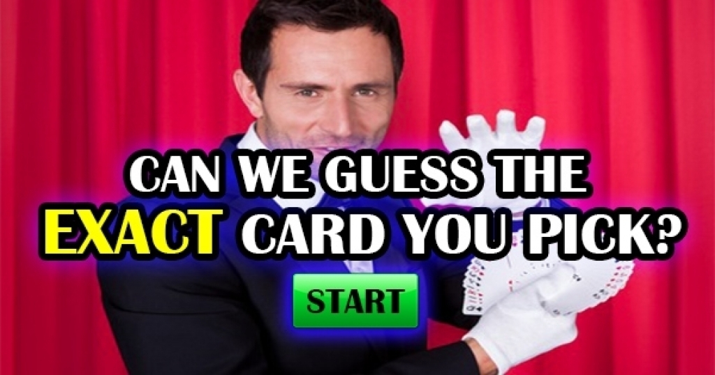 Can We Guess The EXACT Card You Are Thinking?