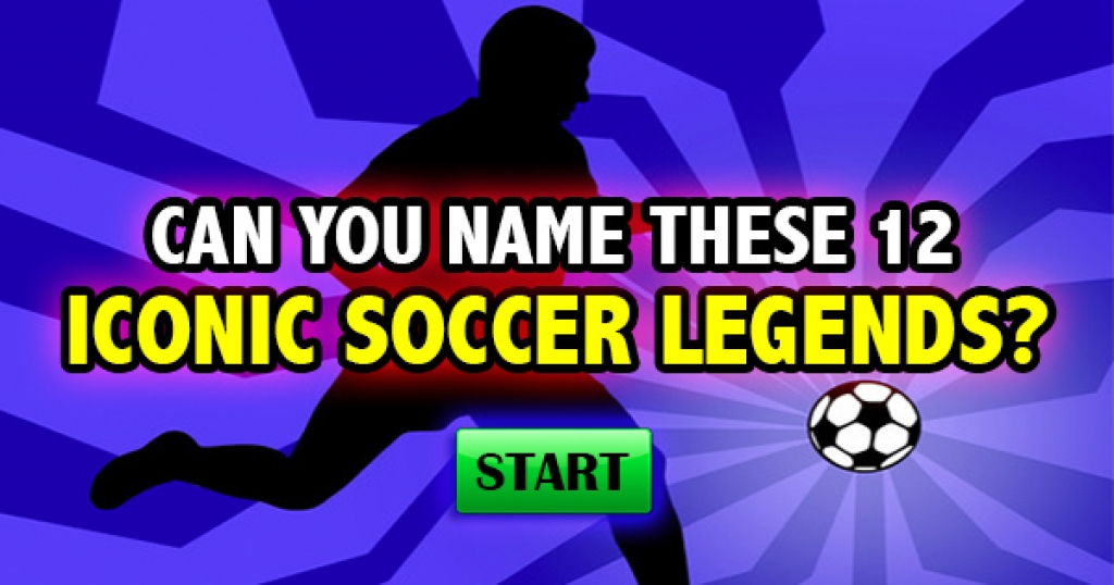 Can You Name These 12 Iconic Soccer Legends?