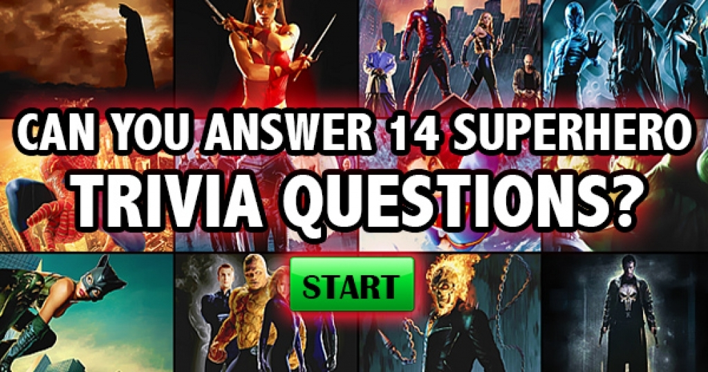 Can You Answer These 14 Superhero Trivia Questions?