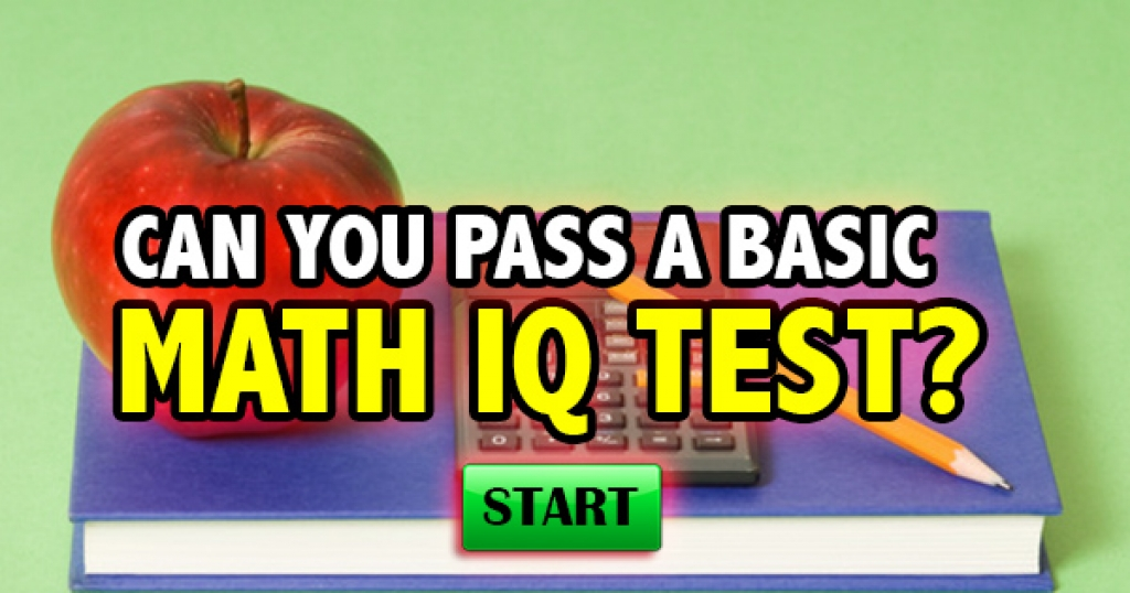 Quizfreak - Can You Pass A Basic Math IQ Test?