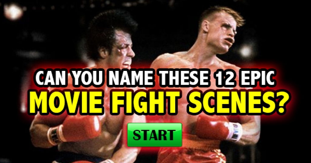 Can You Name These 12 Epic Movie Fight Scenes?