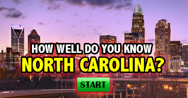 How Well Do You Know North Carolina?