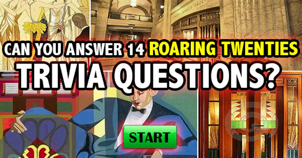 Can You Answer These 14 Roaring Twenties Trivia Questions?