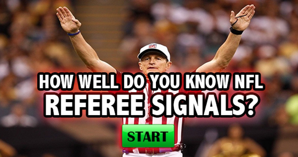 How Well Do You Know NFL Referee Signals?