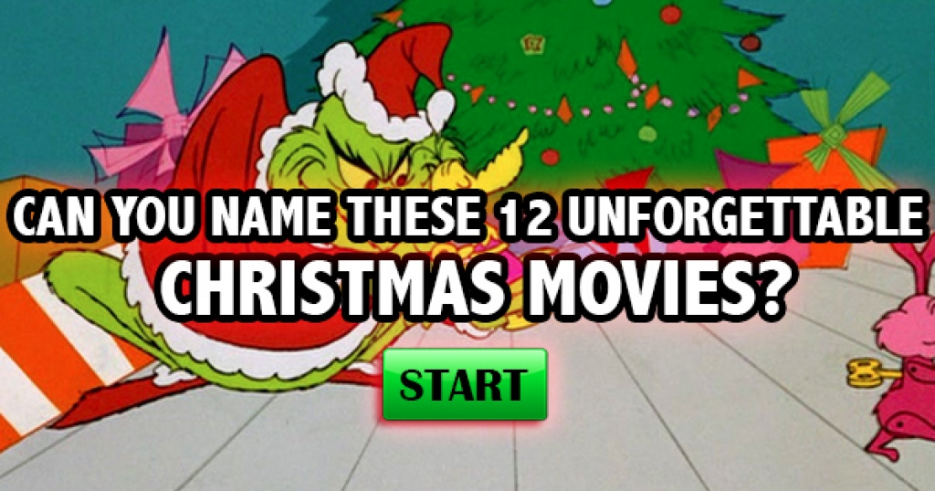 Can You Name These 12 Unforgettable Christmas Movies?