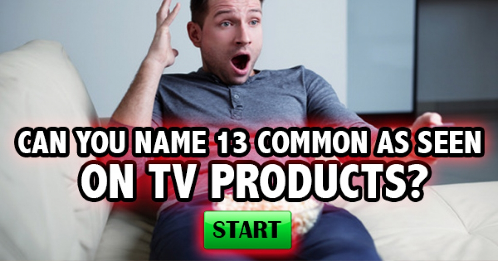 Can You Name These Common As Seen On TV Products?