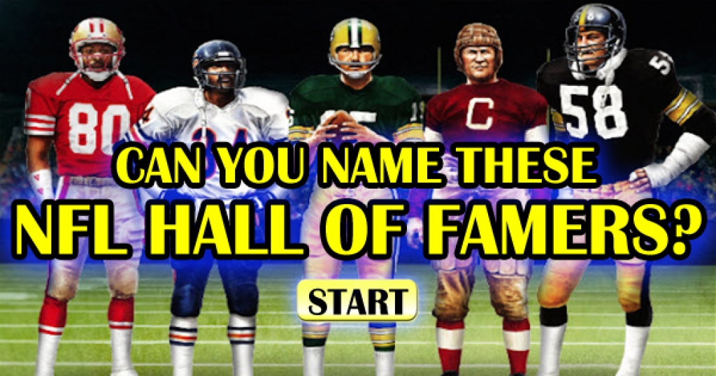 Can You Name These 15 NFL Hall Of Famers?
