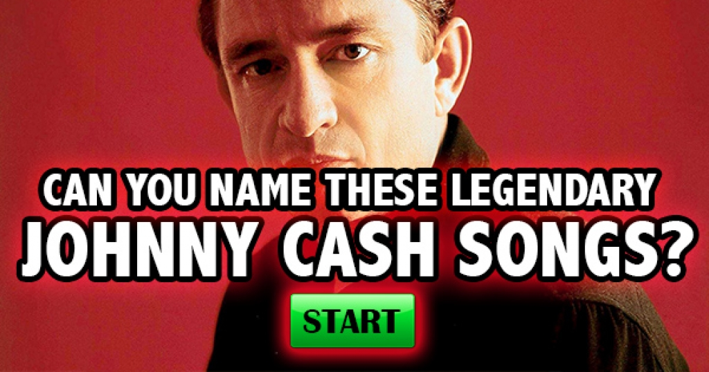 Can You Name These Legendary Johnny Cash Songs?