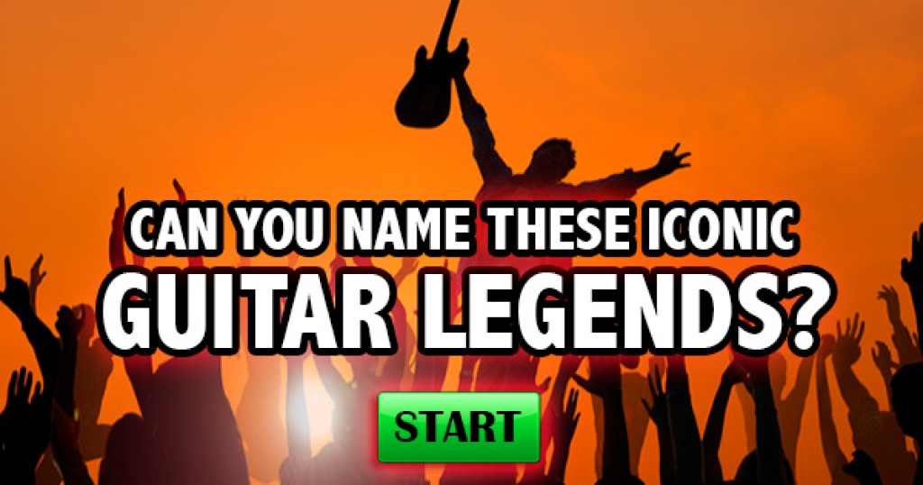 Can You Name These Iconic Guitar Legends?