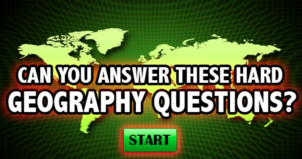 Can You Answer These HARD Geography Trivia Questions?