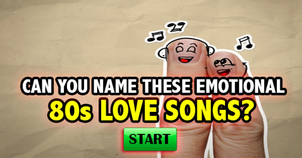 Can You Name These Emotional 80s Love Songs?
